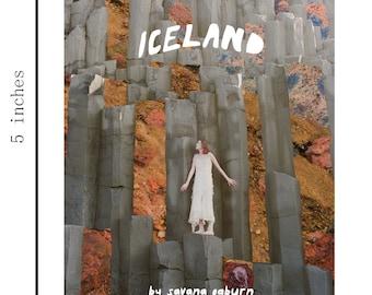 Iceland Zine- Original Art by Savana Ogburn