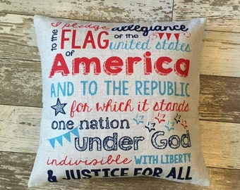 I pledge allegiance-pillow cover