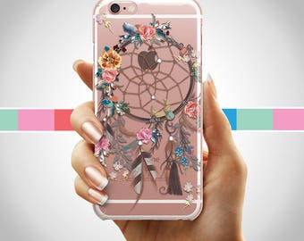 Colorful dreamcatcher iPhone case, iPhone dreamcatcher case, iPhone 8 dreamcatcher case, iPhone 7 dreamcatcher case, iphone 6, iPhone 7 plus