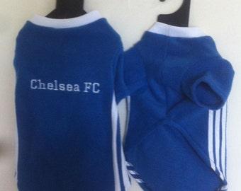 Chelsea FC Polar Fleece Dog Coat