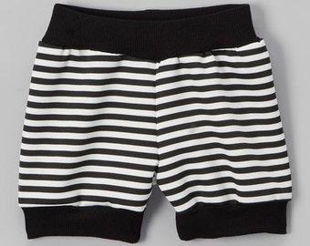 Dreaming Kids Black Stripe  Shorts