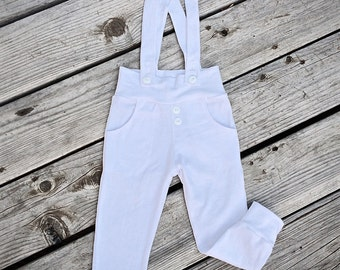 baby blessing outfit boy, christening outfits for boy, baptism outfit boy, baby blessing leggings, toddler leggings, suspender leggings