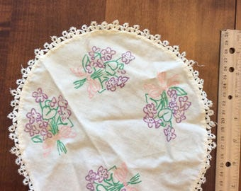 Vintage Doilie Not Embroidered