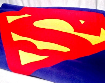 Superman Blanket and Pillow