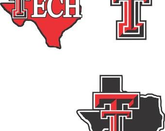 Texas Tech Svg