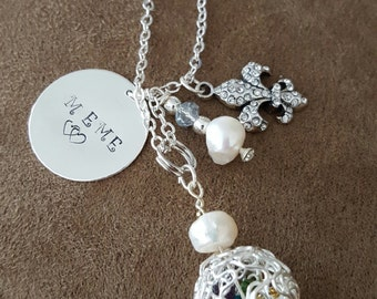 Grandmother charm Necklace