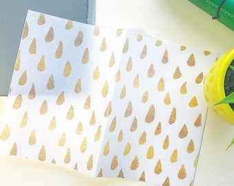 "Raindrops"" Gold Edition: Vellum TN Covers/Dashboards"