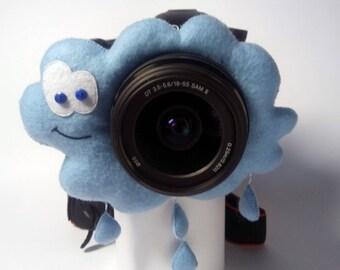 Camera buddy Photography accessory Camera lens buddy Photographer helper Camera accessory Photo helper Camera gift Funny felt cloud Felt toy
