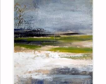 Abstract landscape, Giclée print, fine art print, Kunstdruck, Wand Dekor