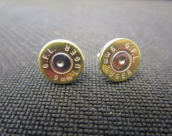 Bullet Stud Earrings
