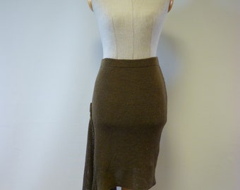 Special price. Walnut linen skirt, S size. Only one sample.