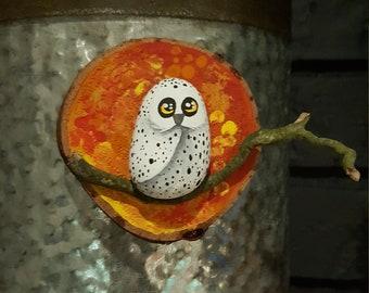 Autumn Owl Magnet - 042