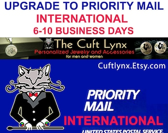 International Orders only - Upgrade Shipping to USPS Priority Mail