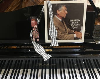 Sheet Music Bow Tie