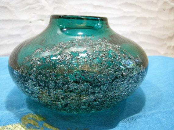 Vintage Vase Schott Zwiesel Florida 1960s 1970s Design H. on