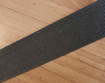 Dark Brown Grosgrain 3 Yards