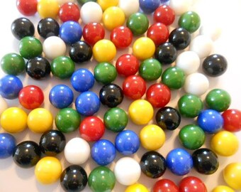 Glass Marbles, 60, Marbles, Chinese Checker, Game Marbles, Replacement Marbles