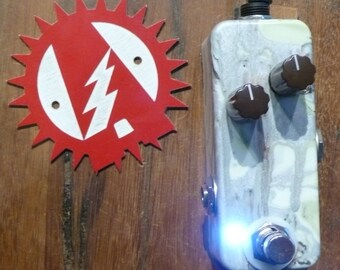Alchemy Audio Assembled BYOC Lil' Kuzco Jr. (Way Huge Red Llama clone) Guitar Effects Pedal