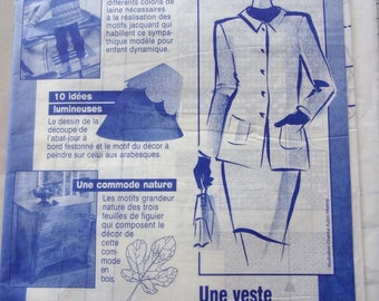 sewing pattern PRIMA - straight jacket for woman - REF. 193