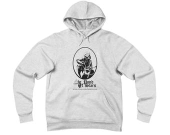 Unisex Hoodie - Johnny Sloth and The Pond of Stars logo in one great design!