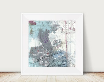 Printable Abstract Artwork- Instant Download Modern Art , Abstract Art , Downloadable Living Room and Bedroom Wall Art