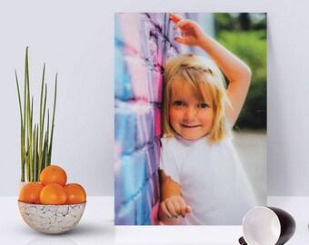"6"" x 6"" Fabric Collage Photo Print"