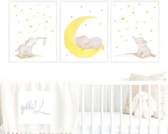 Elephant Nursery Art,Elephant baby Room Art,Elephant Boys Nursery, Elephant Girls Nursery,Elephant Nursery Decor,Cute Elephant,Elephant Kids