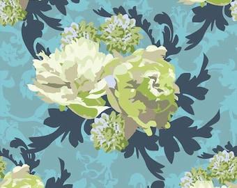 Half Yard Vintage Verona Floral Cotton Fabric