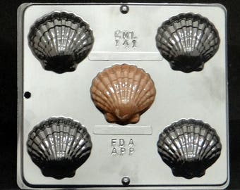 Shell Candy Mold for Chocolate Candy Making 141