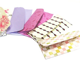 Monetary Gift Envelopes, Financial Cash Envelope System Plan, Budget Planner Organizer, Decorative Patterned Keepsake Pouches itsyourcountry