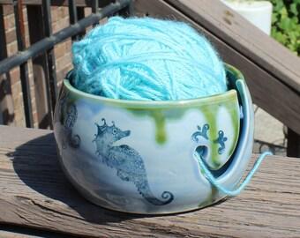 Sea Life Ceramic Yarn Bowl