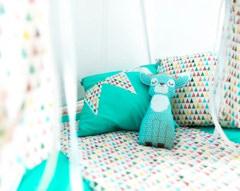 Baby deer Pillow, Stuffed deer, Stuffed animals, Nursery Decor, Soft Toy, Kids Room Decor, Deer Cushion, Decorative Pillow