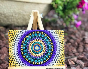 Mandala Canvas easel