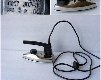 Vintage Electric Folding Travel Iron/ Travel Accessory
