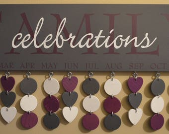 Customized Celebration Board - Artisan hand crafted - Dark Grey Boards