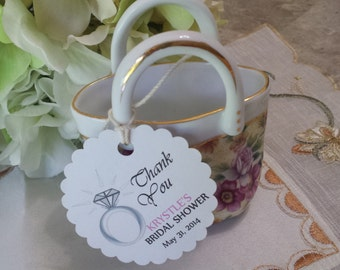 Personalized Favor Tags 2 1/2'', Wedding tags, Thank You tags, Favor tags, Gift tags, Bridal Shower Favor Tags