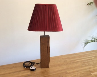 SOLD - Beautiful wooden lamp base