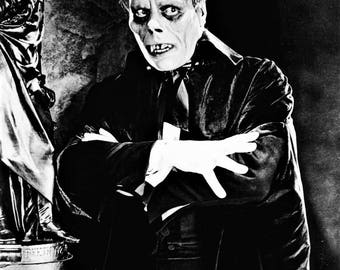 Still from the 1925 silent film  Phantom of the Opera with Lon Channey Sr