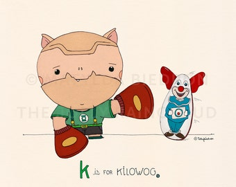 K is for Kilowog