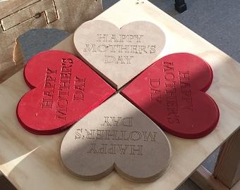 Mother's  Day Custom Heart