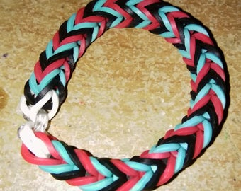 Red Blue and Black Fishtail