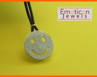 Emoticon Silver 925 pendant SMILE