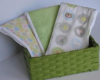Baby Burp cloths,  FREE SHIPPING