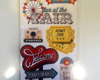Fair/Carnival Stickers