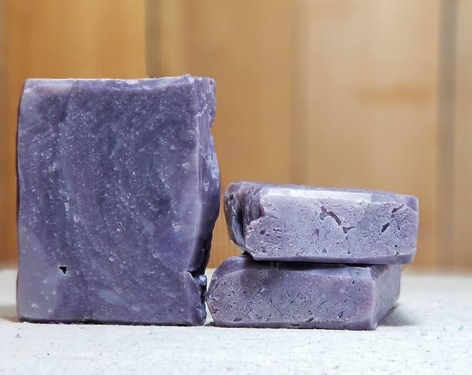 """Butt Naked Scented """"Orsino"""" Soap Goddess Loves Shakespeare Soap, light scent, yogurt soap, free shipping"""