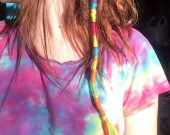 Hair Wrap: Rainbow