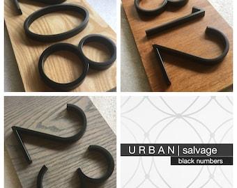 U R B A N | salvage Modern Black House Numbers