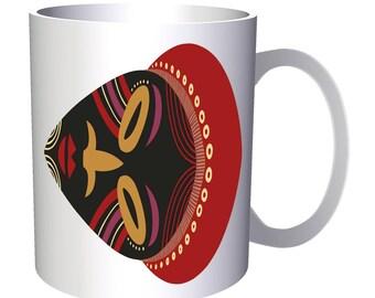 African masks ethnic 11oz Mug i797