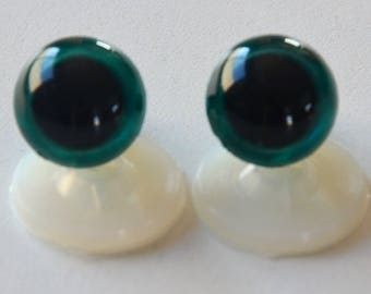 15mm Emerald for toy or stuffed animal safe eyes