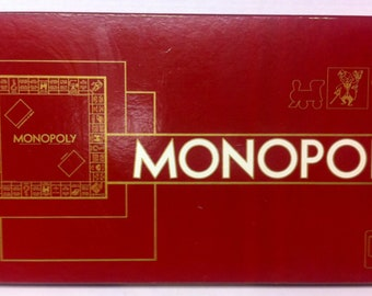 1961 French version of Monopoly by Marque et modele Very RARE
